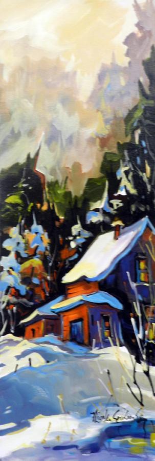 La cabane à Ti-mé 12 x 36