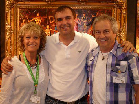Avec Claude Bonneau et Gérald