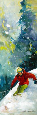 Petit skieur 12 x 36 VENDU